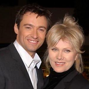 Hugh Jackman s manželkou Deborrou