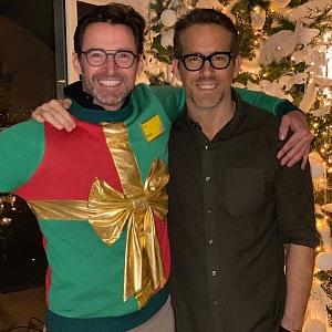 Hugh Jackman s Ryanem Reynoldsem