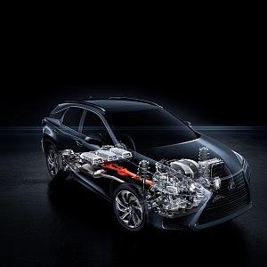 Inteligentní energie vozů Lexus