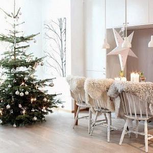 Hygge atmoséfra ropojená s Vánocemi