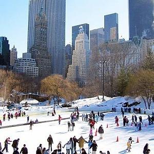 Bruslení v Central Parku