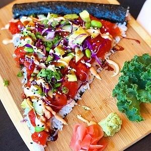 Sushi Pizza