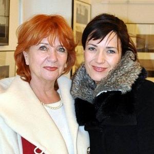 Tereza Kostková a Carmen Mayerová