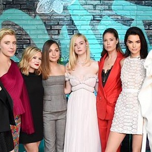 Michelle Williams, Greta Gerwig, Ava Phillippe, Maddie Ziegler, Elle Fanning, Doutzen Kroes, Kendall Jenner, and Naomi Campbell