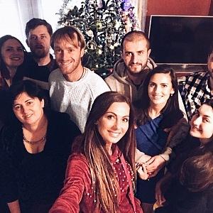 Nejšťastnější je ale kráska doma na Moravě, s rodinou.