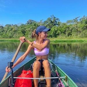 Díky dnes již bývalému partnerovi Jakubovi vyrazila třikrát do Amazonie.