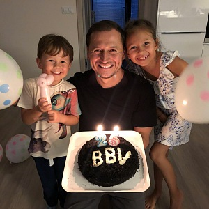 Největší inspirací jsou pro Vojtu jeho děti, které mu také přály k výročí BBV