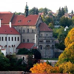 Pohled na Třebíč a Baziliku sv. Prokopa