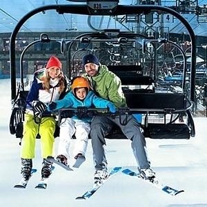 Ski Dubai, lanovka