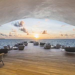 Velrybářský bar St Regis, Maledivy