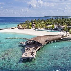 Velrybářský bar St Regis Maledivy Vommuli Resort