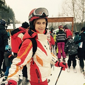 Po čtyřicítce se naučila lyžovat.