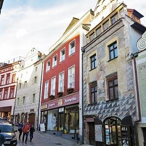 Historické budovy Českého Krumlova