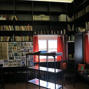 Library in the tower