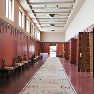 Ústřední hala v reprezentativních prostorech