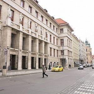 Budova Městské knihovny, Mariánské náměstí