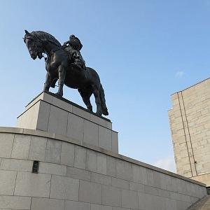 Jezdecká socha Jana Žižky na Vítkově