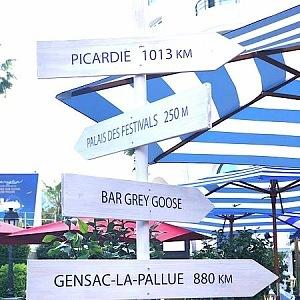 Zahrada hotelu Majestic Barriere Cannes
