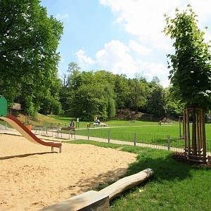 Zeleň a parky v okolí