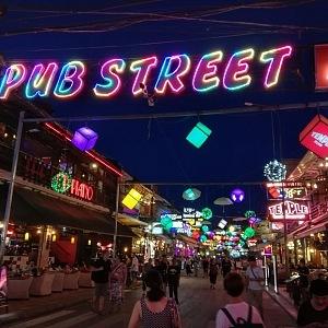 Popuární Pub Street
