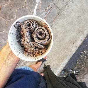 Oreo zmrzlina nesmí chybět :)