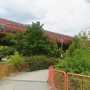 Stodůlky - most pro metro