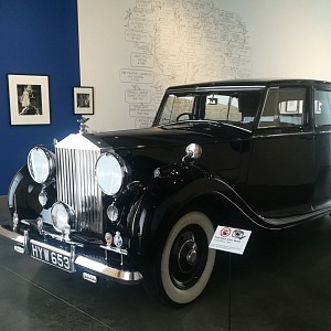 Rolls Royce Silver Wraith, prodloužená verze z roku 1946
