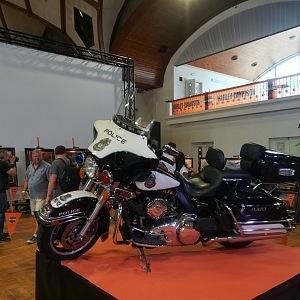 Luxusní historické motorky Harley-Davidson