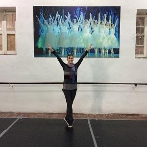 I dnes je na baletním sále každý den - v roli baletního mistra.