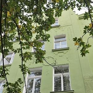Dům, kde žil J. Arbes i K. Poláček