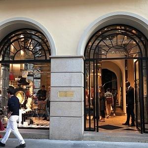 Butik Balmain v Miláně