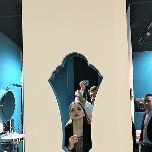 Zábavné představení Gentry Home na veletrhu v Miláně