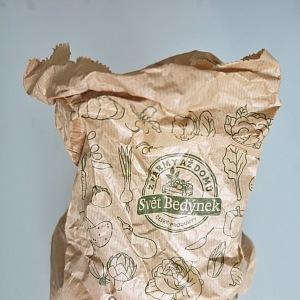 Novinka ve Světě bedýnek - plně recyklovatelné sáčky!