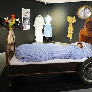Legendární postel babičky Škopkové