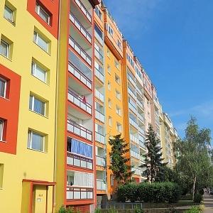 Colorful part of Prague - Letňany