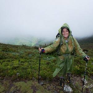 Lepší je jít stovky kilometrů v nepříznivém počasí, než sedět doma. Camino de Santiago, Španělsko.