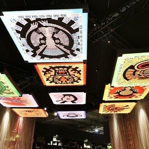 Znamení z horoskopu zdobily i stropy