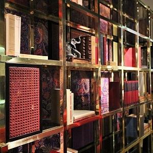 Luxusní knihovna Fonda