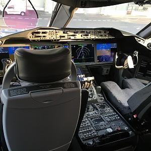 Kabina pilotů.