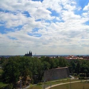 Výhled na hrad