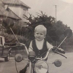 Jako malý chtěl být kosmonautem.