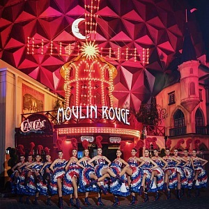 Kabaret Moulin Rouge.
