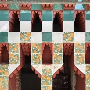 Casa Vicens - detail luxusního domu