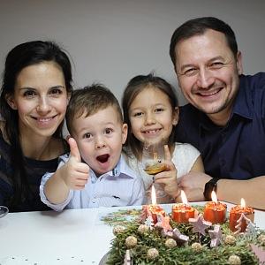 Rodina Bernatských.