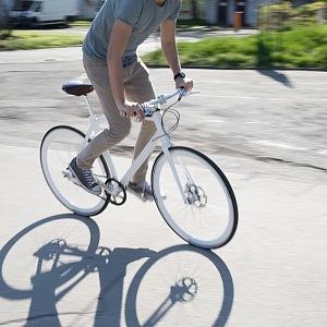 Bike Suveren in action
