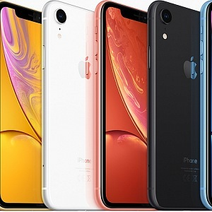 Iphone XR a jeho barevná paleta