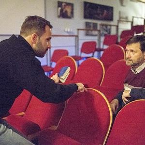 Jan Hrušínský v divadle