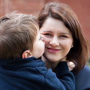 Jana Maláčová se synem