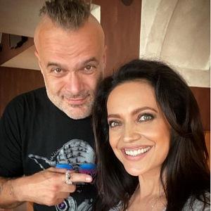 Jaro Slávik a Lucie Bíla