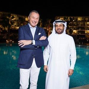 Jean-Christopher Babin and H.E. Abdulla Al Habbai